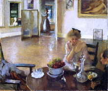 A Breakfast Room (also known as In the Breakfast Room) - Edmund Tarbell