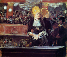 Study for 'A Bar at the Folies-Bergere' - Edouard Manet