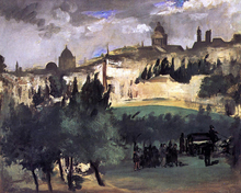 The Burial - Edouard Manet