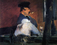 The Tavern (also known as Open Air Cabaret) - Edouard Manet