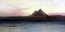 The Pyramids of Ghizeh - Edward Lear