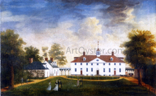 Mount Vernon from the Carriage Entrance - Edward Savage