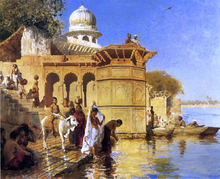 Along the Ghats, Mathura - Edwin Lord Weeks