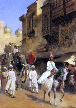 Indian Prince and Parade Ceremony - Edwin Lord Weeks