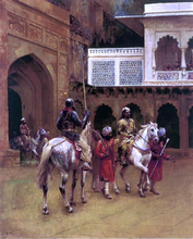 Indian Prince, Palace of Agra - Edwin Lord Weeks