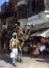 Man Leading a Camel - Edwin Lord Weeks