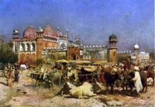 Market Place, Agra - Edwin Lord Weeks