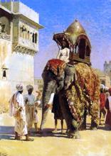 A Mogul's Elephant - Edwin Lord Weeks