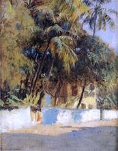 Street Scene, Bombay - Edwin Lord Weeks