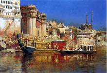 The Barge of the Maharaja of Benares - Edwin Lord Weeks