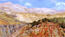 Village in Atlas Mountains, Morocco - Edwin Lord Weeks