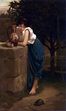 Etruscan Girl with Turtle - Elihu Vedder