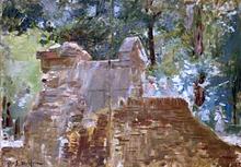 Estudio de paisaje - Eliseo Meifren I Roig
