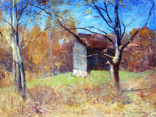 Behind the Artist's Studio - Emil Carlsen