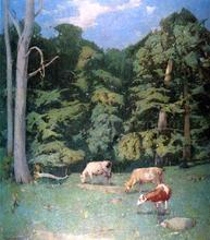 Wood Pasture - Emil Carlsen