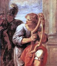 Saul and David (detail)