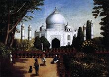 The Taj Mahal - Erastus Salisbury Field