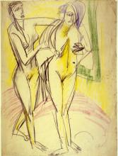 After the Bath - Ernst Ludwig Kirchner