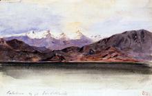 The Coast of Spain at Salabrena - Eugene Delacroix