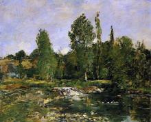 Garden Ponds Paintings