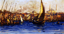 The Port of Istambul