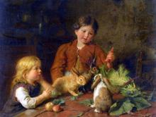 Rabbits Paintings