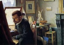 Felix Jasinski in His Printmaking Studio - Felix Vallotton