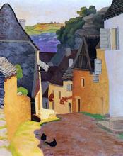 A Rocamadour Landscape - Felix Vallotton