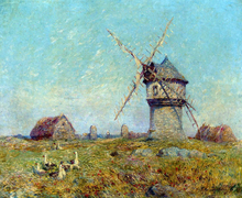 Breton Landscape - Ferdinand Du Puigaudeau
