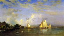 On the Hudson - Francis A Silva