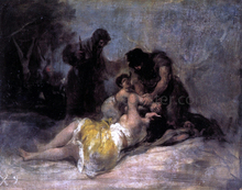 Scene of Rape and Murder - Francisco Jose de Goya Y Lucientes