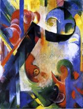 Broken Forms - Franz Marc