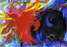 Fighting Forms - Franz Marc