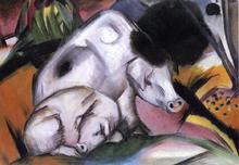 Pigs - Franz Marc