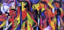 Stables - Franz Marc
