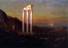 Moonrise - Frederic Edwin Church