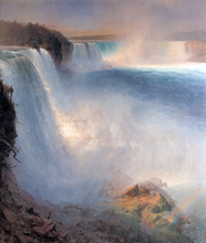 Niagara Falls from the American Side - Frederic Edwin Church