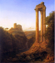 Sunrise in Syria - Frederic Edwin Church