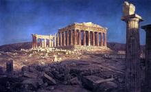 Famous Landmarks Paintings