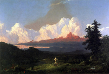 To the Memory of Cole - Frederic Edwin Church