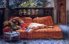 A Siesta - Frederick Arthur Bridgeman