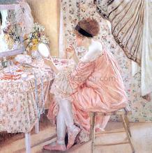 Before Her Appearance (La Toilette) - Frederick Carl Frieseke
