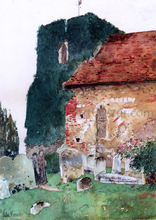 Canterbury - Frederick Childe Hassam