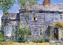 East Hampton, L.I. (also known as Old Mumford House) - Frederick Childe Hassam