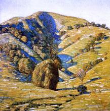 Hill of the Sun, San Anselmo, California - Frederick Childe Hassam