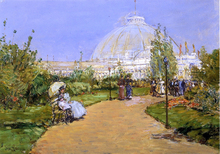 Horticultural Building, World's Columbian Exposition, Chicago - Frederick Childe Hassam