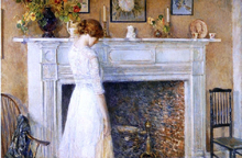 In the Old House - Frederick Childe Hassam