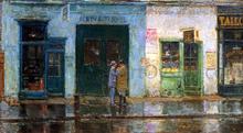 Little Cobbler's Shop - Frederick Childe Hassam