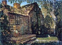Little Old Cottage, Egypt Lane, East Hampton - Frederick Childe Hassam