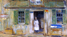 Shops and Stores Paintings